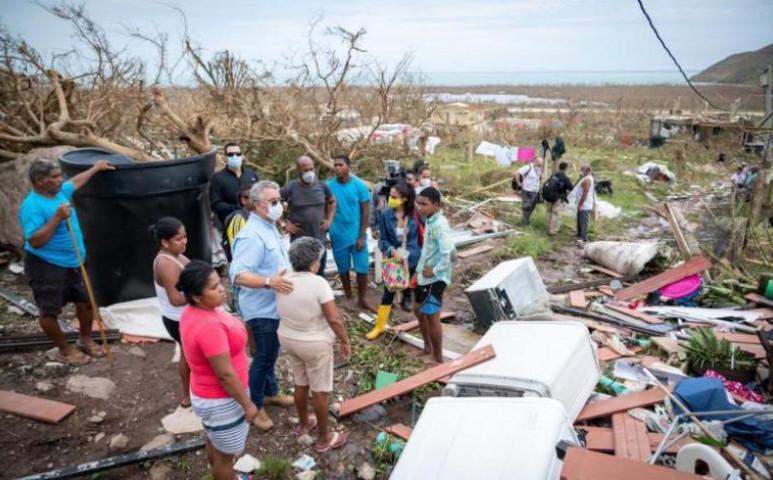 Iota felfalta Providencia szigetét - akárcsak Dorian Abaco-t