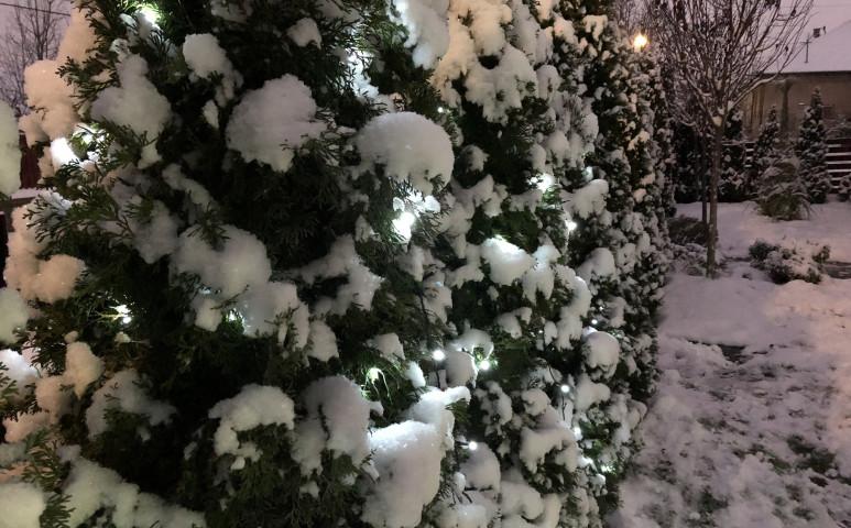 Északkeleten jönnek az első hópelyhek!
