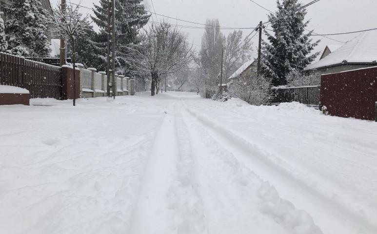 Egyre hidegebb idő, közeledik a hó is