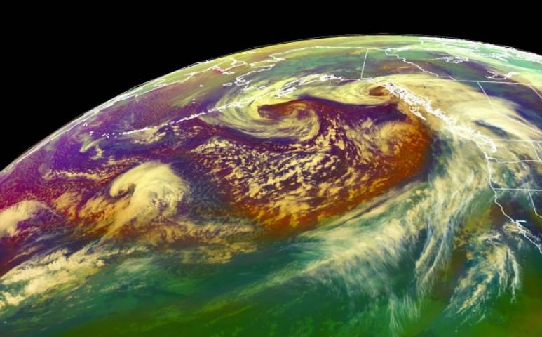 Három viharrendszer támadja Alaszkát futószalagon
