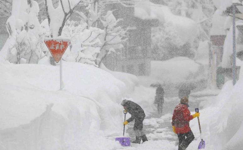 Japánban továbbra is a hó az úr