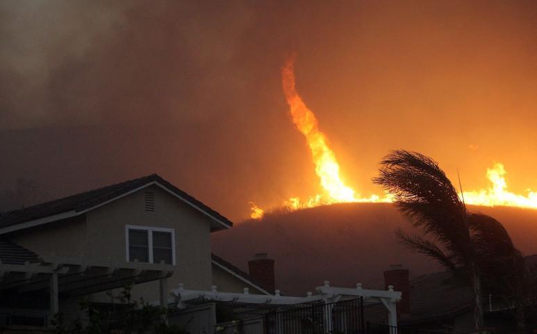 A kaliforniai tűzvész margójára: a tűztornádó