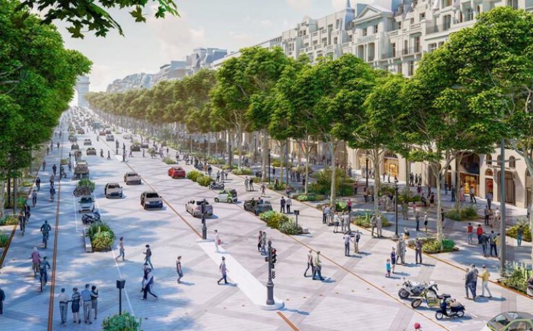 Így tényleg élhetőbb lesz Párizs!