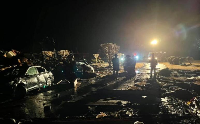 EF3-as tornádó pusztított Észak-Karolinában