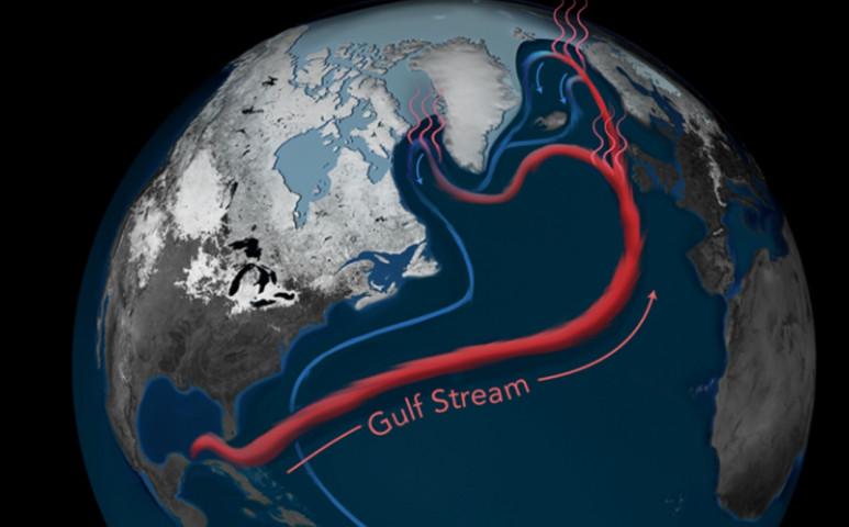 Lassul a Golf-áramlat, emiatt jelentősen emelkedik a tengerszint az USA keleti partvidékén.