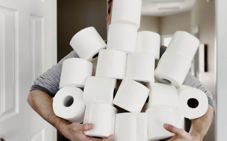Használt wc papírt a kukába?