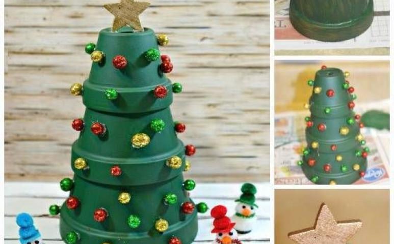 Így készülhet karácsonyi dísz a gyerekekkel