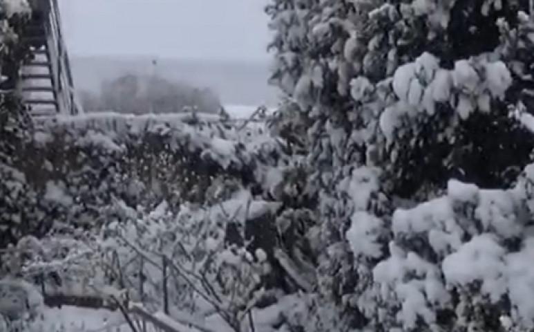 Belgiumban a melegrekordokat követte a havazás