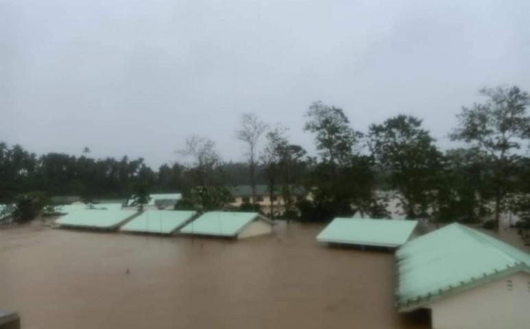 A Surigae ciklon bár kegyes, azért így is pusztító