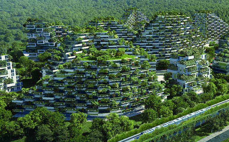 Egy város, ami önmaga egy erdő is egyben