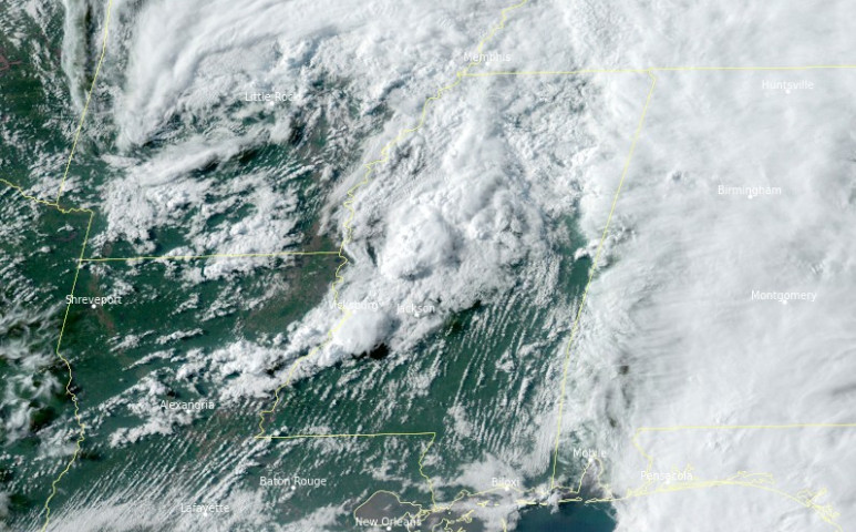 18 tornádó rombolt Mississippiben egyetlen nap alatt