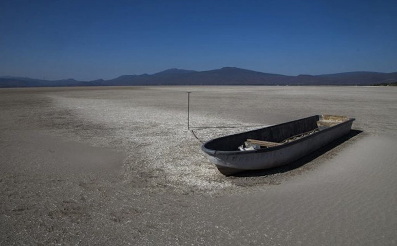 Kiszárad Mexikó második legnagyobb tava