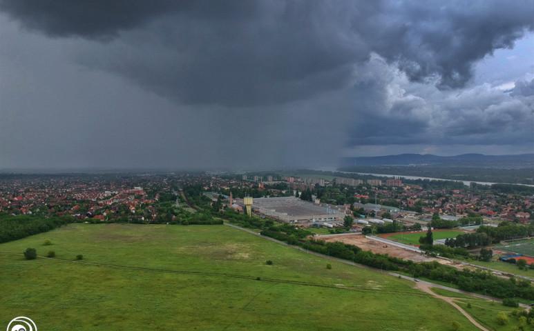 Kiadós esőzés jön!