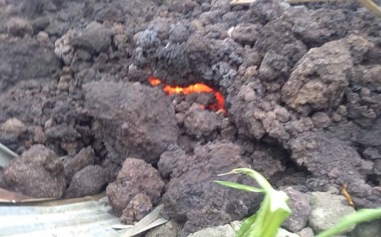 Felperzseli Goma városát a Nyiragongo lávafolyama
