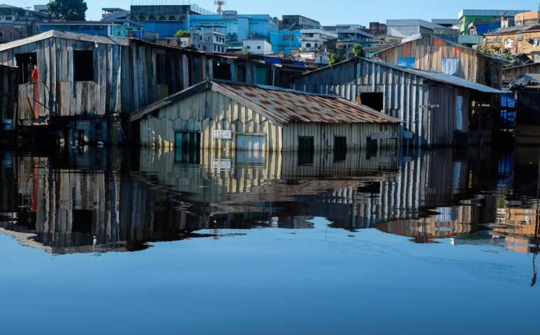 Rekordáradások vannak Brazília északi régióiban