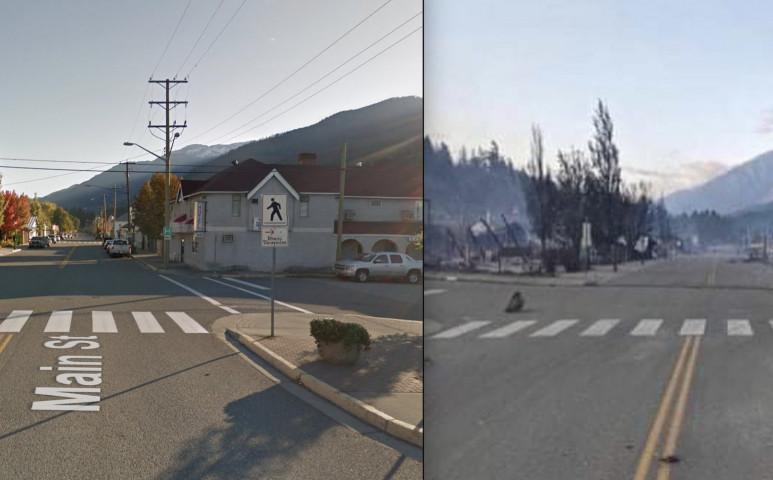 Lángra lobbant a kanadai hőségrekorder város - 15 perc(!) alatt leégett