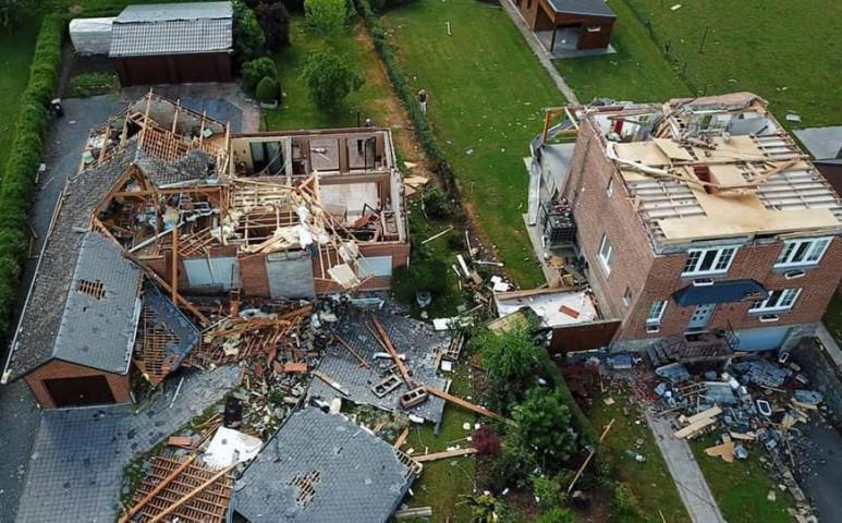 Két tornádó is tombolt 8 napol belül Belgiumban