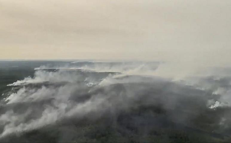 Hozzánk is elért a tomboló erdőtüzek füstje