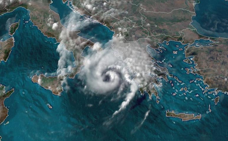 Mediterrán ciklon - medikán