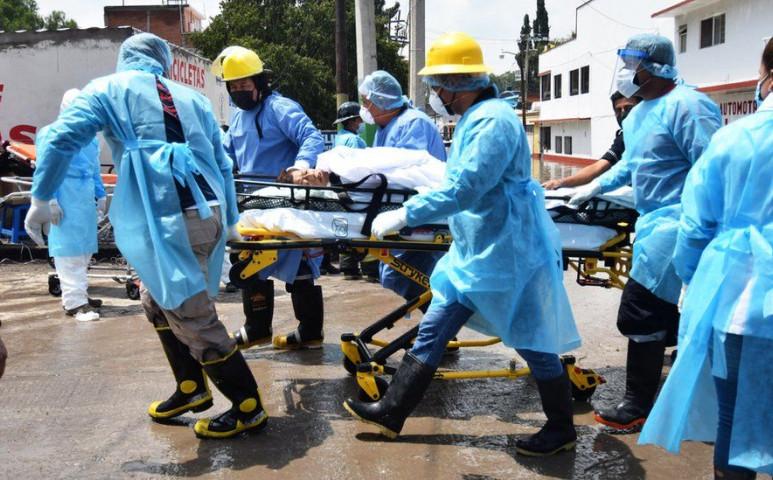 17 beteg halt meg egy kórházban az áradás miatt Mexikóban