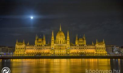 Az Országház éjszaka