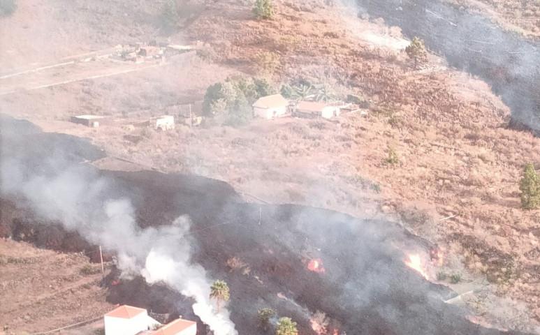 160 otthont falt fel a La Palma szigeten a vulkán lávafolyama