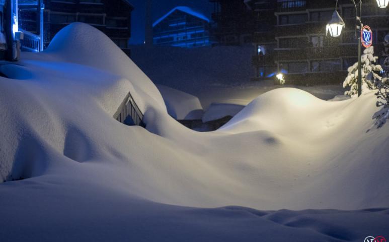 Szélsőségesen erős havazás várható az Alpokban idén is?