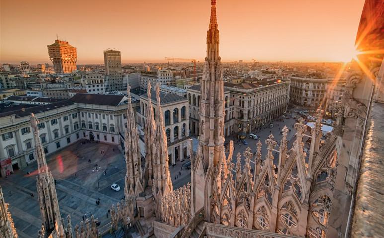 Milánó fákat ültet. 3 milliót.