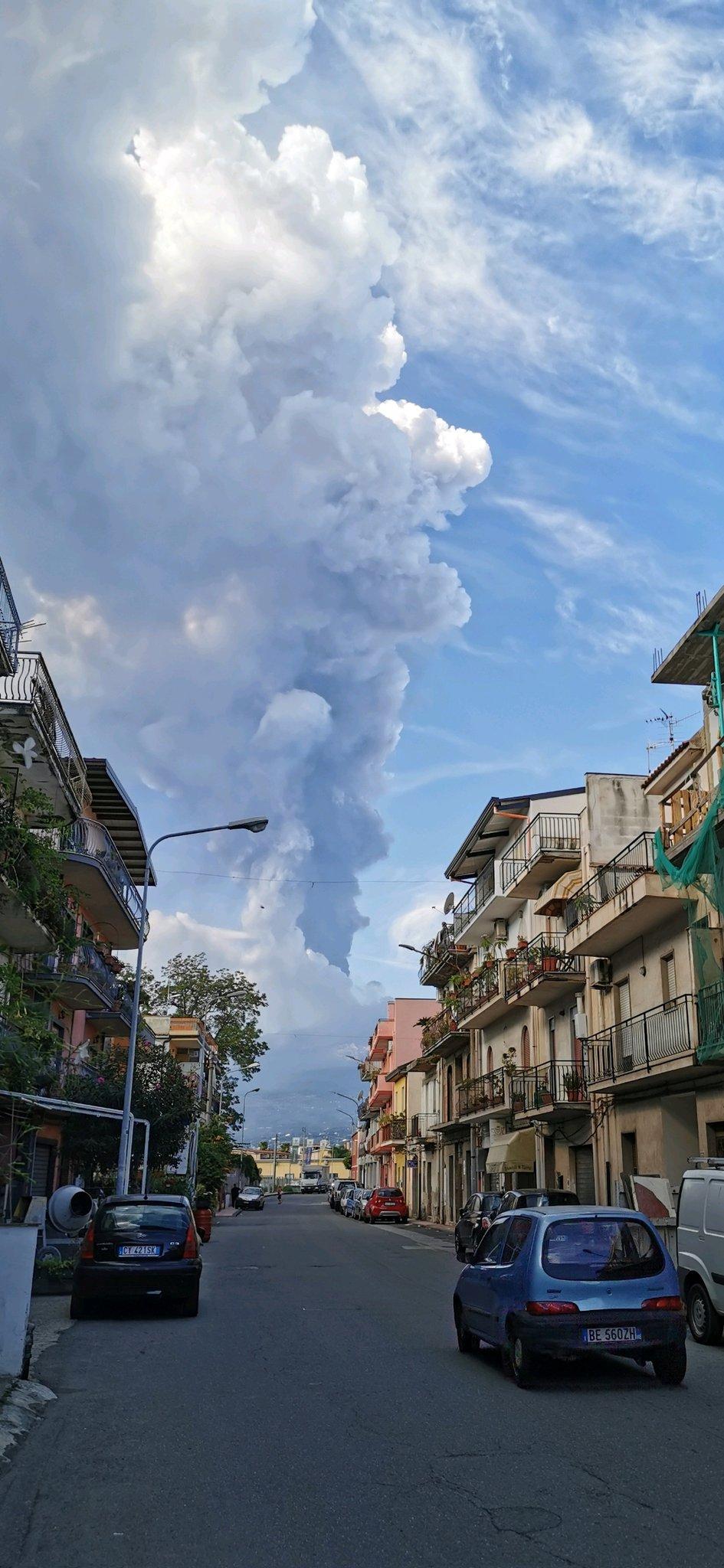 Újabb látványos kitörést produkált az Etna