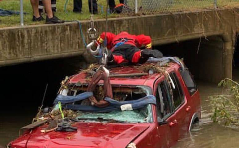 Halálos áradás Alabama területén