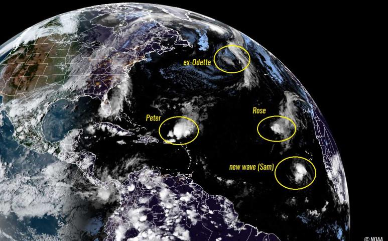 Már most több vihar született a hurrikánszezonban, mint az éves átlag, holott a tetőzés még előttünk van