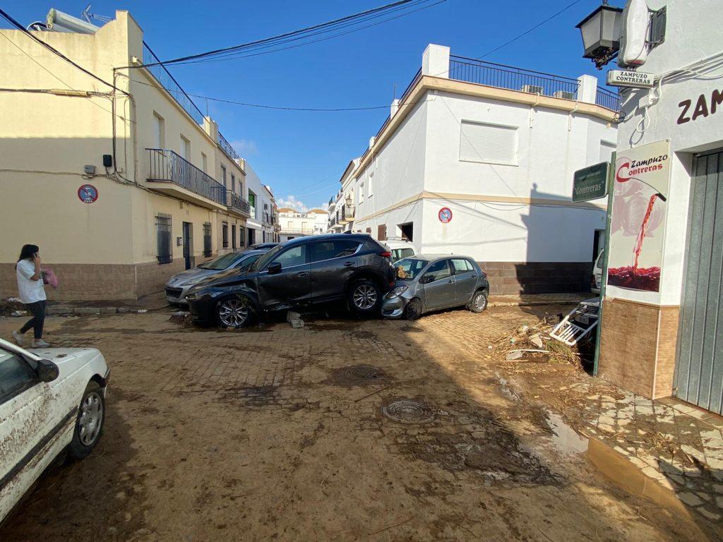 Özönvíz-szerű esőzés Spanyolországban