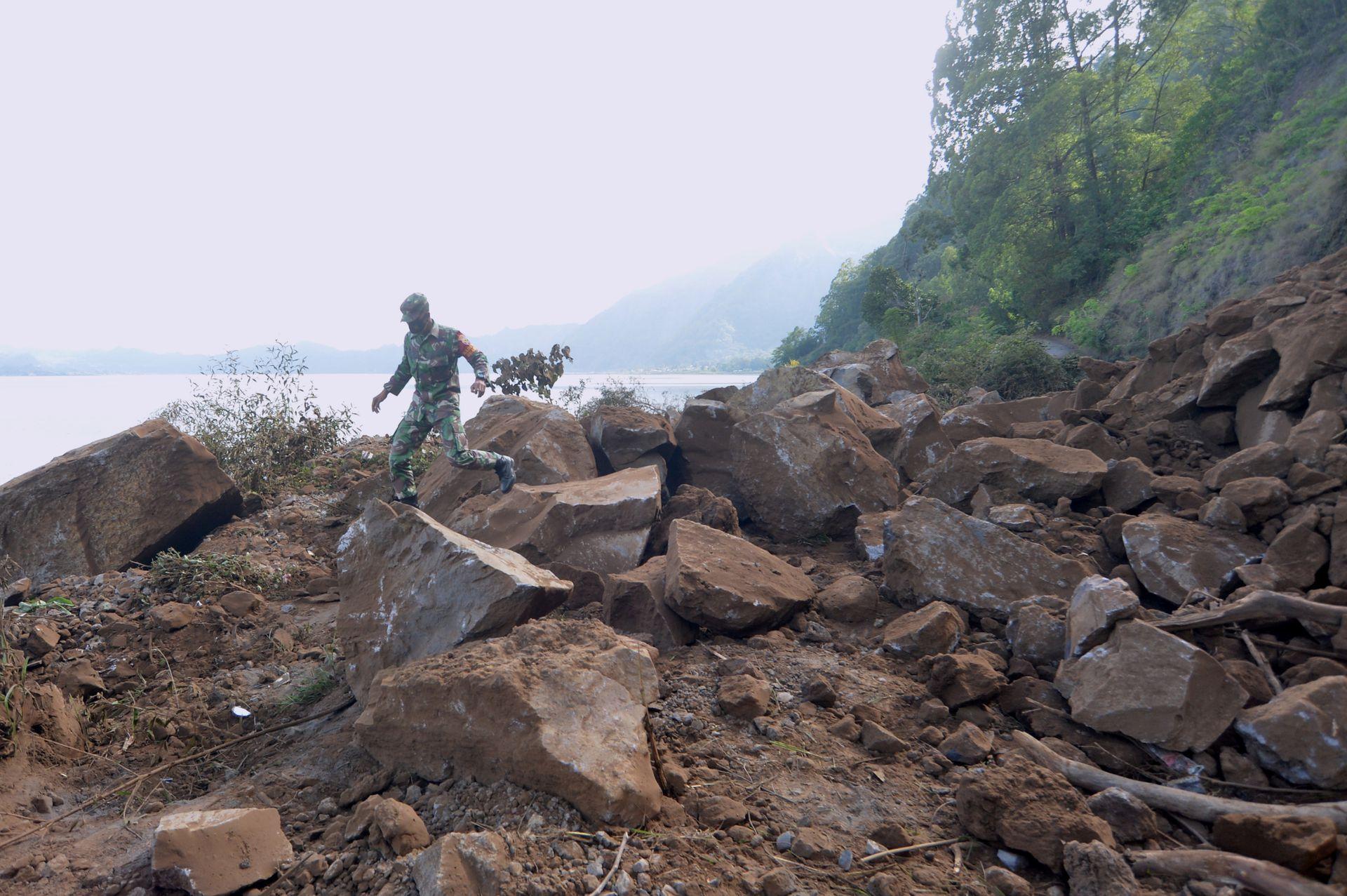 Balin az Agung vulkán közelében halálos áldozatokat követelt a 4,8-as földrengés