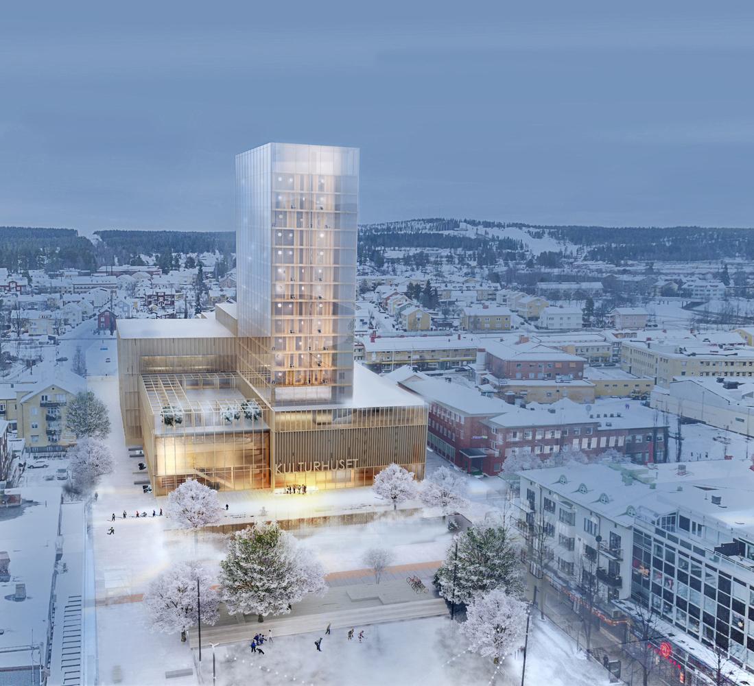 Fa toronyházzal bizonyítják a svéd városban - nem minden a beton!