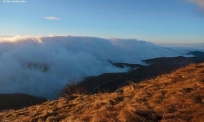Rálátás a ködpaplanra