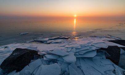 Jégtáblák alkonya
