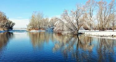 Télen a Kis-Balaton